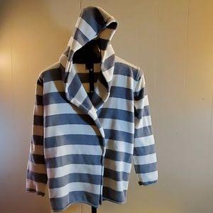 GAP Cotton Hooded Cardigan